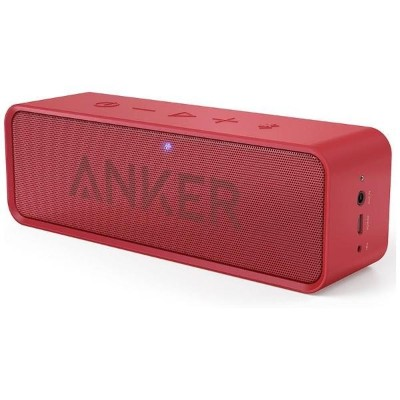 Anker SoundCore ポータブル Bluetooth4.0 スピーカー red A3102091(A3102091)【smtb-s】