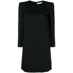 Givenchy round neck shift dress - ブラック