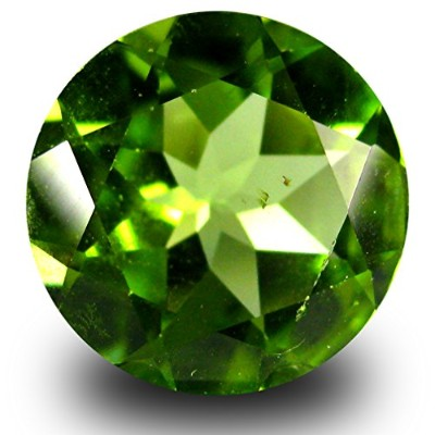 ペリドット ルーズジェームズ 2.51 ct AAA Grade VVS-VS Clarity 9 mm Round Cut Green Peridot Gemstone