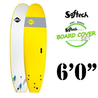 Softech(ソフテック)SOFTECH18SS6'0.BLUE6'0SOFT SKY HAND SHAPED SOFTBOARD SURFBOARDS ソフトボードYELLOW