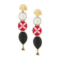 Gas Bijoux Avarenka drop earrings - メタリック