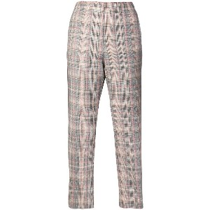 Pinko checked trousers - グレー