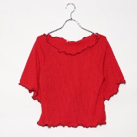 【SALE 23%OFF】レトロガール RETRO GIRL メローリブ CT (RED)