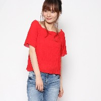 【SALE 23%OFF】レトロガール RETRO GIRL チュールシャーリングCT (RED)
