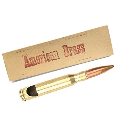 50 Caliber BMG Real Bullet Bottle Opener by American Brass