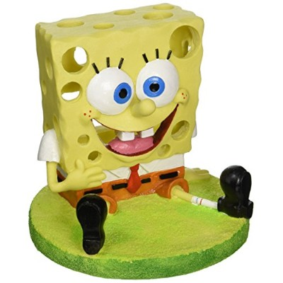 Penn Plax SBR40 Spongebob with Swim Accessory44; 6 in.