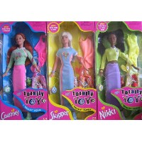 バービーBarbie Complete SET Totally YoYo Courtney Doll, Totally YoYo Skipper Doll & Totally YoYo Nikki...