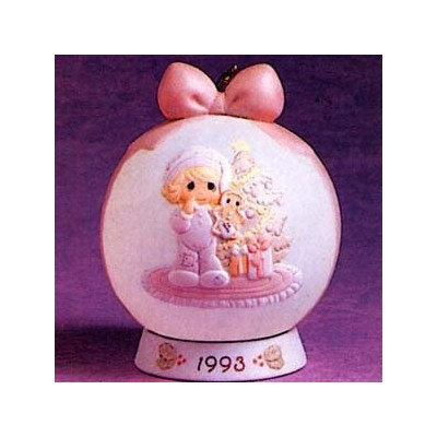 Wishing You The SweetestクリスマスHanging Ornament dated 1993Precious Moments # 530190
