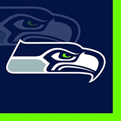 Creative Converting 16 Count Seattle Seahawks Beverage Napkins