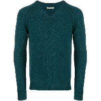 Nuur knit sweater - グリーン