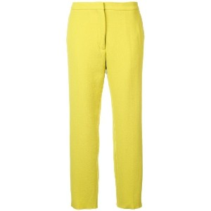 Rochas cropped trousers - グリーン