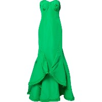 Zac Posen sweetheart neck mermaid gown - グリーン