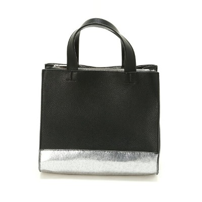 【SALE/70%OFF】cache cache (L)カシュカシュ/仕切りポケット付メタリックトートバッグ アンビリオン バッグ【RBA_S】【RBA_E】