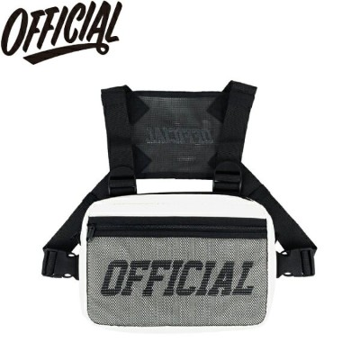 【OFFICIAL】MELROSE CHEST UTILITY BAG(WHITE)(オフィシャル チェスト ユーティリティ バッグ ホワイト)18m/