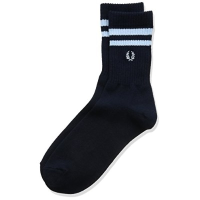 (フレッドペリー) FRED PERRY 靴下Tipped Rib Short Socks F19805 01 01NAVY 27