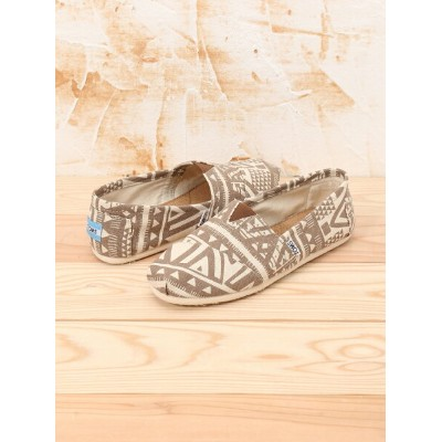 TOMS M CLSC Brown Tribal トムス シューズ【送料無料】