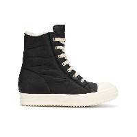 Rick Owens high top sneakers - ブラック