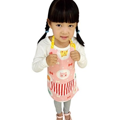 (2T to 3T, Style 1) - CRB Toddler Little Girls Boys Baking Bakware Cute Chef Baking Top Apron with...