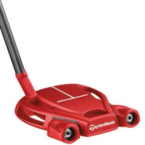 TaylorMade Spider Tour Red w/T-Sightline Putter【ゴルフ ゴルフクラブ>パター】