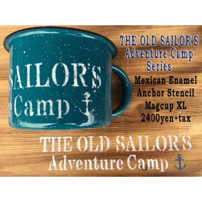 メキシカンホーローマグXLTHE OLD SAILOR'SADVENTURE CAMP SERIES