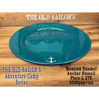 メキシカンホーロー プレートLTHE OLD SAILOR'SADVENTURE CAMP SERIES