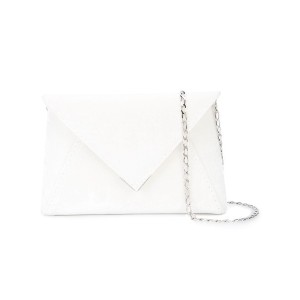 Tyler Ellis Lee Pouchet small clutch - ホワイト