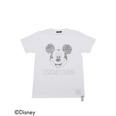 【SALE/30%OFF】OVER Tee / Magnet Logo Mickey Tee ビームスT カットソー【RBA_S】【RBA_E】【送料無料】