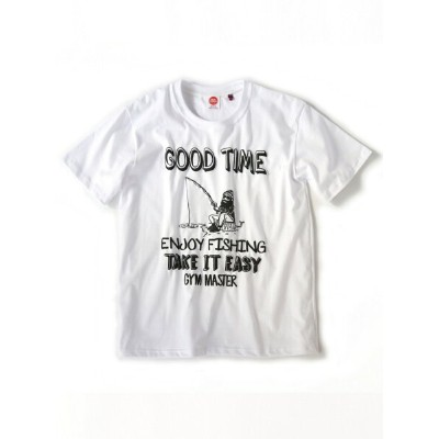 gym master gym master/(U)GOOD TIME Tee_white ジムマスター カットソー【送料無料】