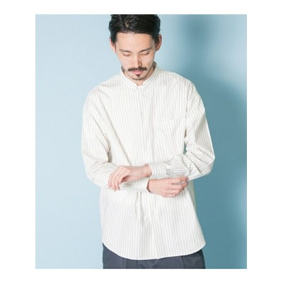 【SALE/50%OFF】URBAN RESEARCH LooseFitStandCollarShirts アーバンリサーチ シャツ/ブラウス【RBA_S】【RBA_E】【送料無料】