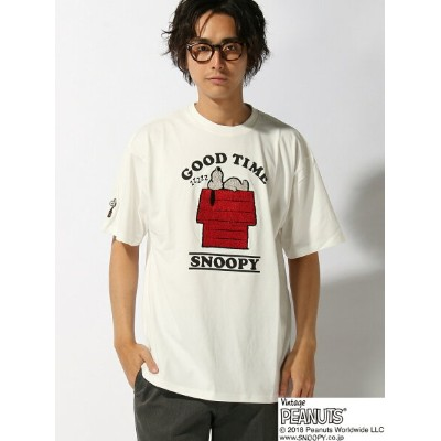 【SALE/20%OFF】LOWBLOW KNUCKLE LOWBLOW KNUCKLE/(M)スリーピングSNOOPY Tシャツ サンコーバザール カットソー【RBA_S】【RBA_E】【送料無料】