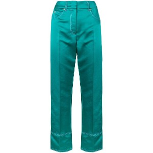 Emilio Pucci cropped tailored trousers - グリーン