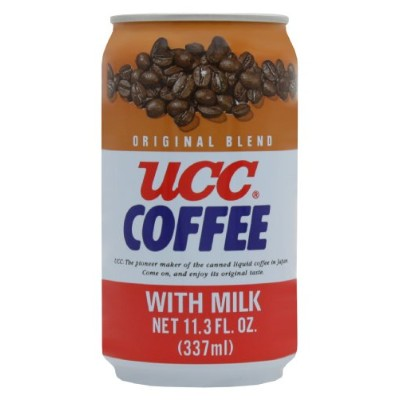 UCC Original Coffee with Milk, 11.3-Ounce Cans (Pack of 24) by C&U
