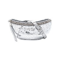 Miu Miu Paillettes belt bag - メタリック