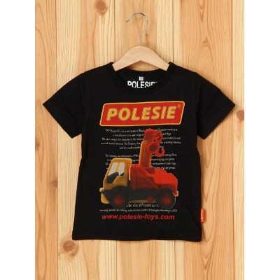 【SALE/50%OFF】BOO HOMES/BACK ALLEY/Natural Boo POLESIEキッズサイズショートスリーブTee(クレーン車) ブーフーウー カットソー【RBA_S】...