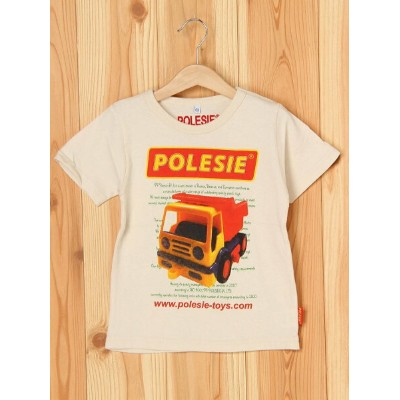 【SALE/50%OFF】BOO HOMES/BACK ALLEY/Natural Boo POLESIEキッズサイズショートスリーブTee(ダンプカー) ブーフーウー カットソー【RBA_S】...