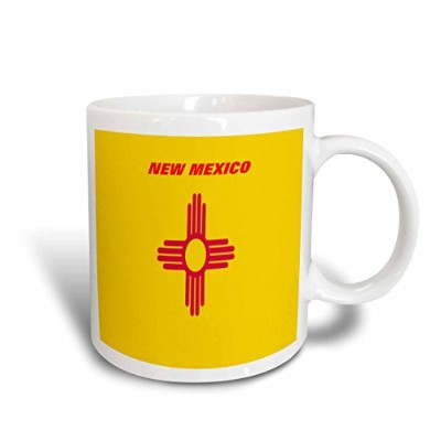(330ml) - 3dRose mug_45071_1 State Flag of New Mexico Ceramic Mug, 330ml