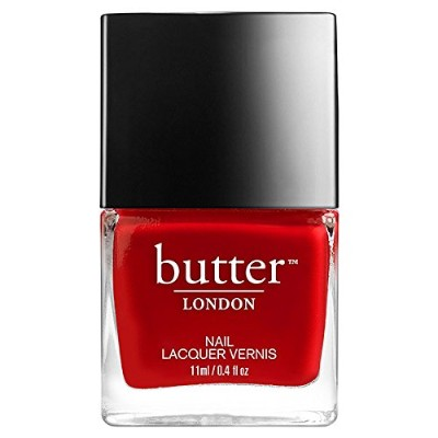Butter London 3 Free Nail Lacquer - Come to Bed Red 0.4oz (11ml)