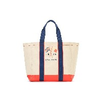 【50%OFF】NANTUCKET DL GNDR プリント トートバッグ ナチュラル 旅行用品 > その他