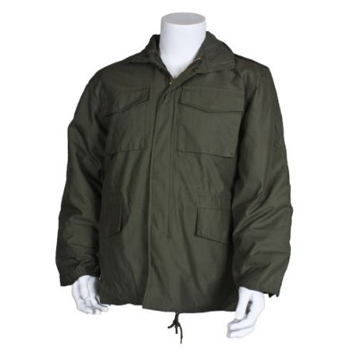 Fox Outdoor 68-30 XL M65 Field Jacket With Liner, Olive Drab - Extra Large
