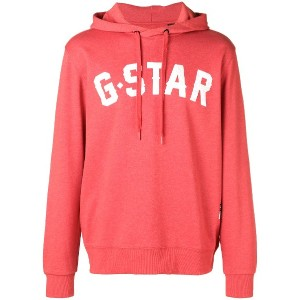 G-Star Raw Research logo hoodie - レッド