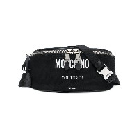 Moschino logo printed belt bag - ブラック