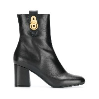 Mulberry hardware ankle boots - ブラック