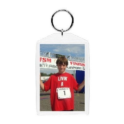 Plastic Photo Snap-in Key Chain - 5.1cm x 7.6cm (pack of 100)
