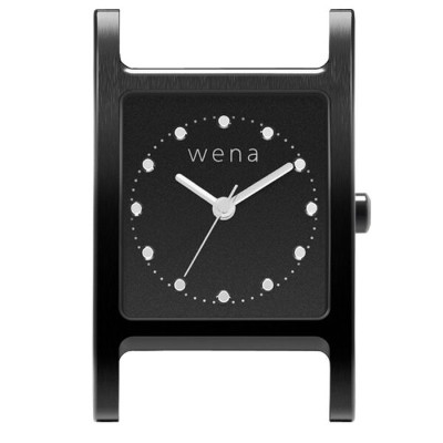 wena wrist Three Hands Square Premium Black Headソニー Sony スマートウォッチ IoT iOS Android iPhone スマートフォン...