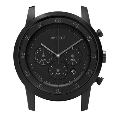 wena wrist用 Chronograph Premium Black Headソニー Sony スマートウォッチ IoT iOS Android iPhone スマートフォン 電子マネー...