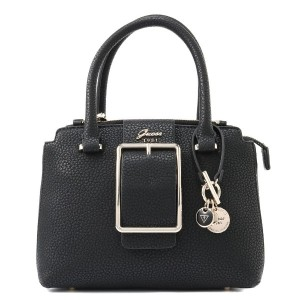 ゲス GUESS CAROLINE SMALL SOCIETY SATCHEL (BLACK) レディース