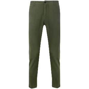 Department 5 straight chinos - グリーン