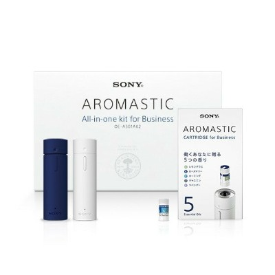 AROMASTIC All-in-one kit for Business (オールインワンキット for Business)ソニー/Sony/アロマ/香り/モバイル/パーソナル/気分転換/ストレス...