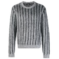 Mumofsix striped jumper - グレー