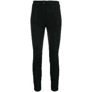 Dorothee Schumacher cropped skinny trousers - ブラック